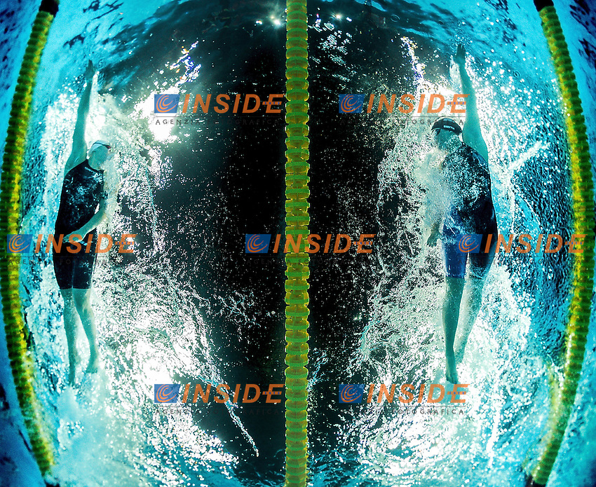 face to face<br /> FINA 13th FINA WORLD SWIMMING SHORT COURSE CHAMPIONSHIPS <br /> Windsor  Canada CAN Dec. 6 - 11, 2016<br /> WFCU center Windsor Ontario Canada CAN <br /> 20161209 WFCU center Windsor<br /> Photo &copy; Giorgio Scala/Deepbluemedia/Insidefoto