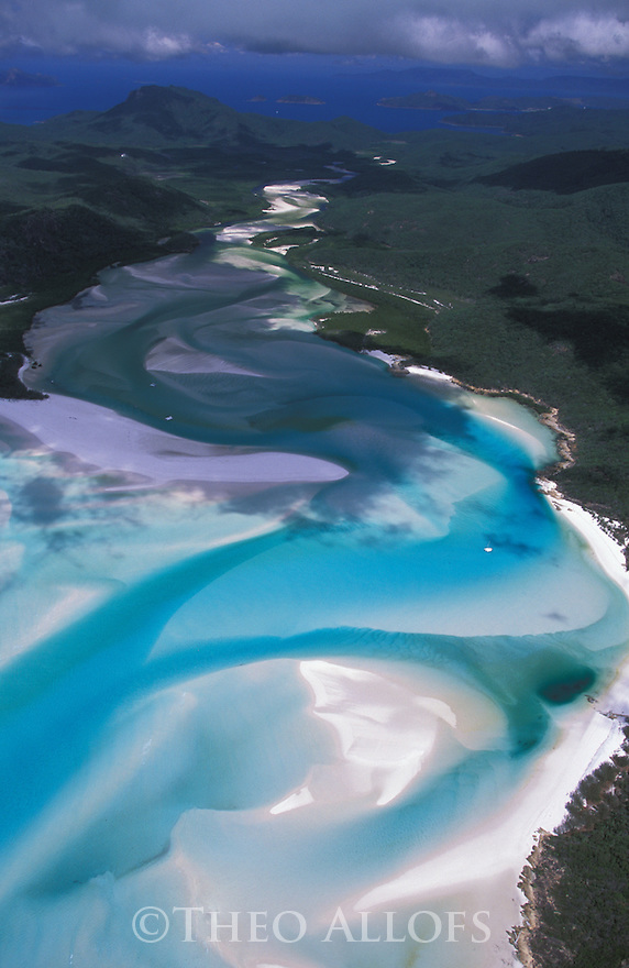 Australia, Queensland; Whitehaven Inlet