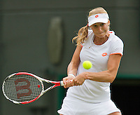England, London, 28.06.2014. Tennis, Wimbledon, AELTC, Ekaterina Makarova (RUS)<br /> Photo: Tennisimages/Henk Koster