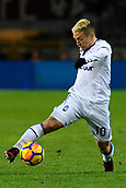 2nd December 2017, Stadio Olimpico Grande Torino, Turin, Italy; Serie A football, Torino versus Atalanta; Alejandro Gomez on the ball