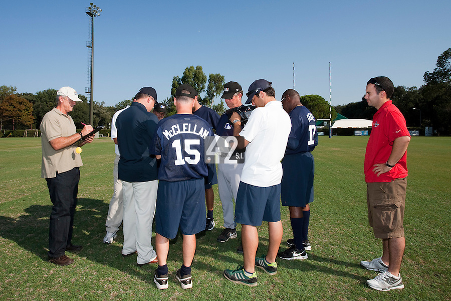 Baseball - MLB Academy - Tirrenia (Italy) - 19/08/2009 - Coaches and scouts