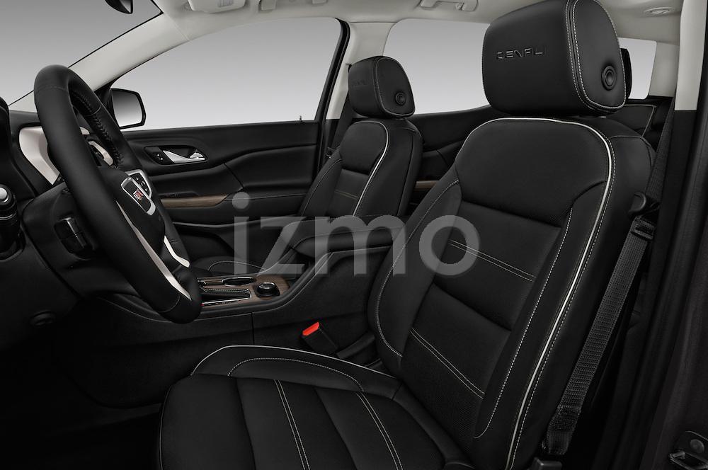 Front seat view of 2017 GMC Acadia Denali 5 Door SUV Front Seat  car photos