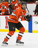 Connor McLaren (Princeton - 23) - The Harvard University Crimson defeated the visiting Princeton University Tigers 5-0 on Harvard's senior night on Saturday, February 28, 2015, at Bright-Landry Hockey Center in Boston, Massachusetts.
