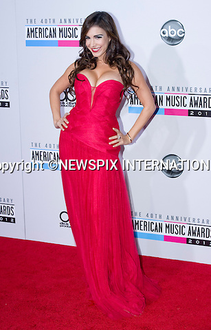 "MAYRA VERONICA.attends the 40th American Music Awards, Nokia Theatre, Los Angeles_18/11/2012.Mandatory Photo Credit: ©Francis Dias/Newspix International..**ALL FEES PAYABLE TO: ""NEWSPIX INTERNATIONAL""**..PHOTO CREDIT MANDATORY!!: NEWSPIX INTERNATIONAL(Failure to credit will incur a surcharge of 100% of reproduction fees)..IMMEDIATE CONFIRMATION OF USAGE REQUIRED:.Newspix International, 31 Chinnery Hill, Bishop's Stortford, ENGLAND CM23 3PS.Tel:+441279 324672  ; Fax: +441279656877.Mobile:  0777568 1153.e-mail: info@newspixinternational.co.uk"