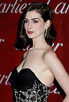 PALM SPRINGS, CA. - January 06: Actress Anne Hathaway arrives at The 20th Anniversary of the Palm Springs International Film Festival Awards Gala at the Palm Springs Convention Center in on December 6, 2009 in Palm Springs, California.