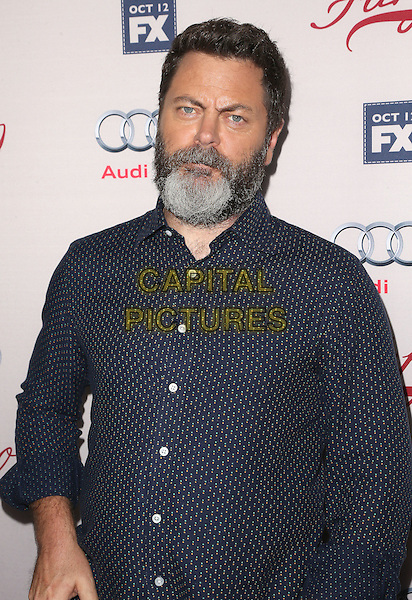 07 October 2015 - Hollywood, California - Nick Offerman. &quot;Fargo&quot; Season 2 Premiere held at ArcLight Cinemas. <br /> CAP/ADM/FS<br /> &copy;FS/ADM/Capital Pictures