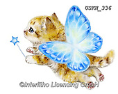 Kayomi, CUTE ANIMALS, LUSTIGE TIERE, ANIMALITOS DIVERTIDOS, paintings+++++,USKH336,#ac#, EVERYDAY ,sticker,stickers ,cat,cats
