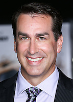 WESTWOOD, LOS ANGELES, CA, USA - NOVEMBER 03: Rob Riggle arrives at the Los Angeles Premiere Of Universal Pictures and Red Granite Pictures' 'Dumb and Dumber To' held at the Regency Village Theatre on November 3, 2014 in Westwood, Los Angeles, California, United States. (Photo by Xavier Collin/Celebrity Monitor)