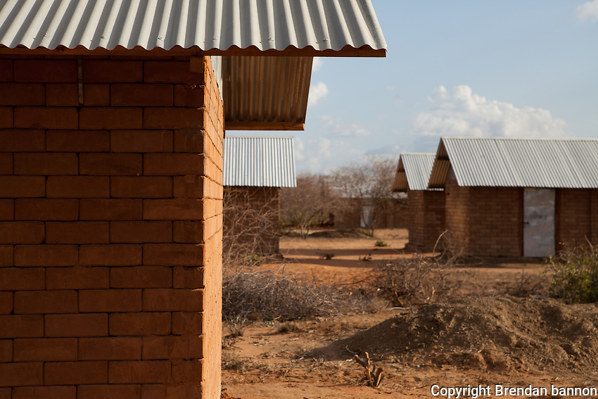 Low cost housing in Ifo 2. the sand and cement interlocking brick structures have a longer life than the tents being currently used and are much cheaper in the long run.