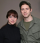 """Rebekah Brockman and Corey Mach from  """"Mrs. Miller Does Her Thing""""  at the Signature Theatre on March 18, 2017 in Arlington, Virginia."""