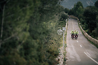 Team Trek-Segafredo men's team<br /> training camp<br /> Mallorca, january 2019<br /> <br /> &copy;kramon