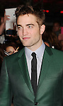 LOS ANGELES, CA - NOVEMBER 12: Robert Pattinson  arrives at 'The Twilight Saga: Breaking Dawn - Part 2' Los Angeles premiere at Nokia Theatre L.A. Live on November 12, 2012 in Los Angeles,