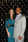 Montel Williams poses with wife Tara Fowler as he is host of event - Clayton Boudreau on GL and was on AMC at the First Annual StarPet 2008 Awards Luncheon as dogs and cats compete for a career in showbusiness on November 10, 2008 at the Edison Ballroom, New York, New York. The event benefitted Bideawee and NY SAVE. (Photo by Sue Coflin/Max Photos
