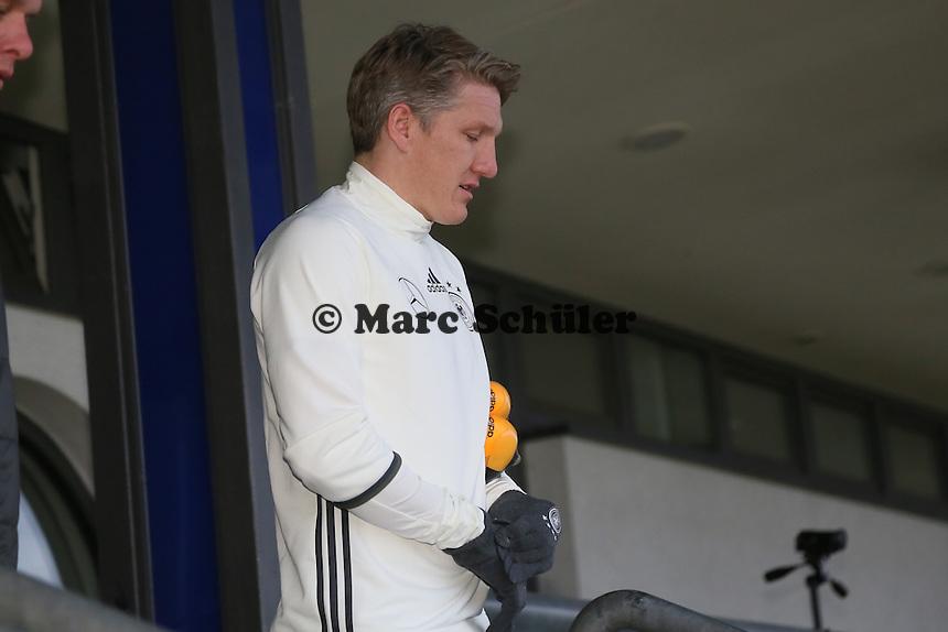 Bastian Schweinsteiger - Training der Deutschen Nationalmannschaft, Wurfplatz Berlin