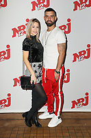 "CORALIE, VINCENT - PHOTOCALL NRJ 12 DES CANDIDATS ""FRIENDS TRIP 4"" AU BUDDHA BAR A PARIS, FRANCE, LE 14/12/2017."