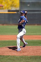 Yaisel Sierra - Los Angeles Dodgers 2016 extended spring training (Bill Mitchell)