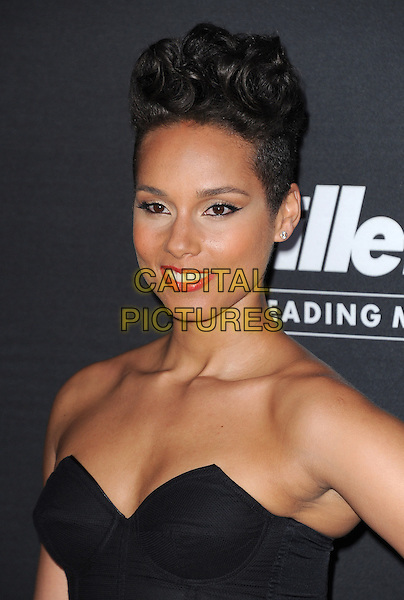 LOS ANGELES, CA - FEBRUARY 27 - Alicia Keys attends unite4:good and Variety presentation &quot;unite4:humanity&quot; Celebrating Good, Giving and Greatness Around the Globe held at Sony Picture Studios in Culver City, California on February 27,2014                                                                              <br /> CAP/DVS<br /> &copy;DVS/Capital Pictures