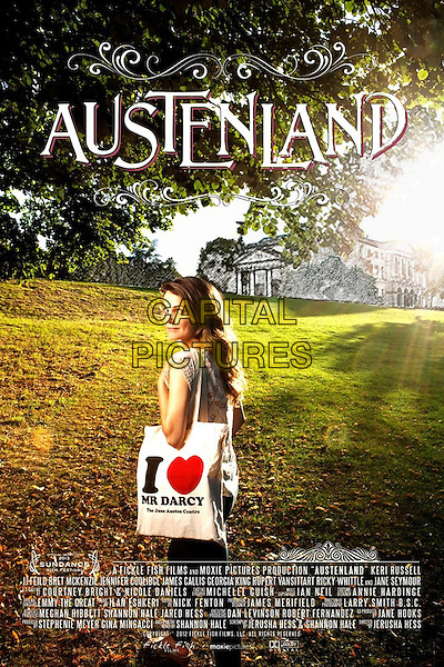 POSTER ART<br /> in Austenland (2013) <br /> *Filmstill - Editorial Use Only*<br /> CAP/FB<br /> Image supplied by Capital Pictures