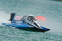 8-10 August 2008  Algonac, MI USA.Shaun Torrente rolls to victory in F2..©F.Peirce Williams 2008