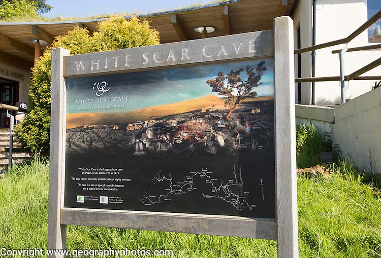 White Scar cave, Ingleton, Yorkshire Dales national park, England, UK