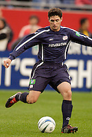 The Revolution's Jay Heaps. The New England Revolution tied the NY/NJ MetroStars one all at Gillette Stadium, Foxborough, MA, on May 22, 2004.