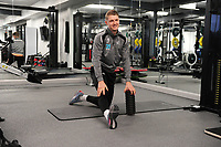 George Byers of Swansea City in the gym during the Swansea City Training at The Fairwood Training Ground, Swansea, Wales, UK. Tuesday 22 January 2019