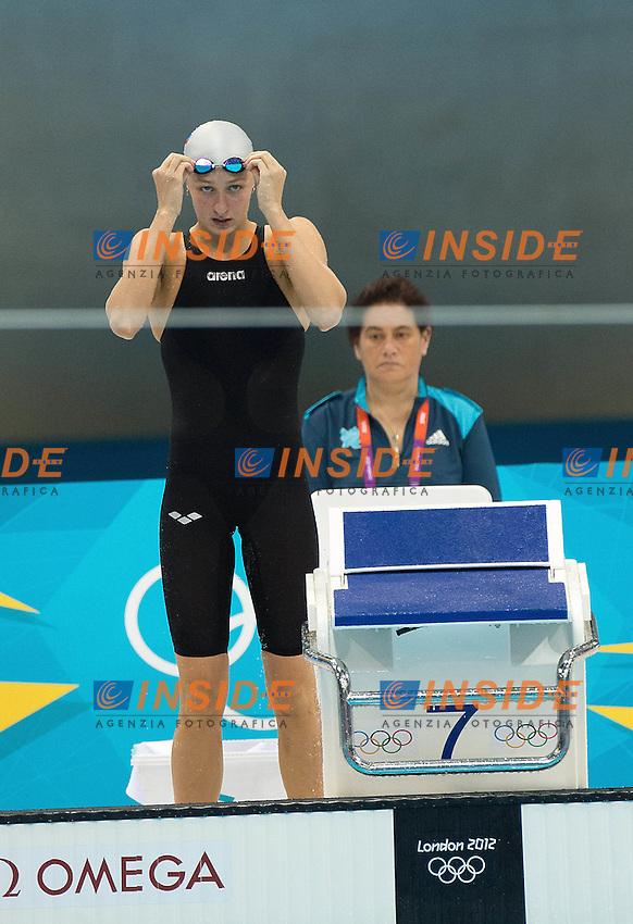 POPOVA Veronika Russia.100 FREESTYLE Women.swimming heats.London 2012 Olympics - Olimpiadi Londra 2012.day 06 August 1.Photo G.Scala/Deepbluemedia.eu/Insidefoto