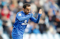 Getafe's Diego Castro celebrates during La Liga match. February 16, 2013. (ALTERPHOTOS/Alvaro Hernandez) /Nortephoto