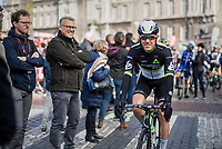 Serge Pauwels (BEL/DimensionData) at the start in Liège<br /> <br /> 103rd Liège-Bastogne-Liège 2017 (1.UWT)<br /> One Day Race: Liège › Ans (258km)