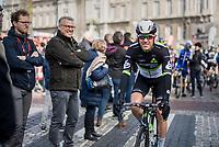 Serge Pauwels (BEL/DimensionData) at the start in Li&egrave;ge<br /> <br /> 103rd Li&egrave;ge-Bastogne-Li&egrave;ge 2017 (1.UWT)<br /> One Day Race: Li&egrave;ge &rsaquo; Ans (258km)