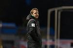 23.10.2018, Heinz-Dettmer-Stadion, Lohne, GER, FSP, SV Werder Bremen vs DSC Arminia Bielefeld<br /> <br /> DFL REGULATIONS PROHIBIT ANY USE OF PHOTOGRAPHS AS IMAGE SEQUENCES AND/OR QUASI-VIDEO.<br /> <br /> im Bild / picture shows<br /> Florian Kohfeldt (Trainer SV Werder Bremen) in Coachingzone / an Seitenlinie, <br /> <br /> Foto &copy; nordphoto / Ewert