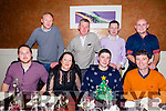 Kostal Employees enjoying their staff Christmas party on Saturday night at Darcy's Bistro. Front l-r  Gregor Muller, Joan Finnegan, Eamon Gairey and Jason Murphy. Back l-r  Eoin Horgan, Pat O'Brien, Tom O'Rourke and Robert Lohan