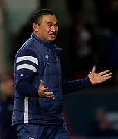 Bristol Bears' Head Coach Pat Lam<br /> <br /> Photographer Bob Bradford/CameraSport<br /> <br /> Gallagher Premiership - Bristol Bears v Gloucester Rugby - Friday 1st March 2019 - Ashton Gate - Bristol<br /> <br /> World Copyright © 2019 CameraSport. All rights reserved. 43 Linden Ave. Countesthorpe. Leicester. England. LE8 5PG - Tel: +44 (0) 116 277 4147 - admin@camerasport.com - www.camerasport.com