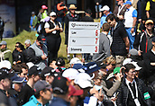 30th September 2017, Windross Farm, Auckland, New Zealand; LPGA McKayson NZ Womens Open, third round;  Fans and supporters at the 10th tee