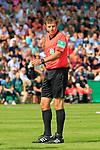11.08.2019, Stadion Lohmühle, Luebeck, GER, DFB-Pokal, 1. Runde VFB Lübeck vs 1.FC St. Pauli<br /> <br /> DFB REGULATIONS PROHIBIT ANY USE OF PHOTOGRAPHS AS IMAGE SEQUENCES AND/OR QUASI-VIDEO.<br /> <br /> im Bild / picture shows<br /> Schiedsrichter Frank Willenborg<br /> <br /> Foto © nordphoto / Freund