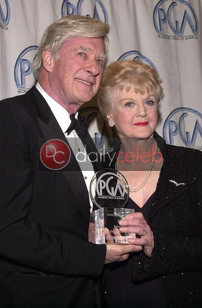 John Frankenheimer and Angela Lansbury