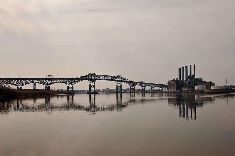 Pulaski Skyway &amp; Power Plant<br /> Kearney, New Jersey