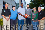 Garvey's Tralee Warriors l officially launch their 2017/2018 Super League season at the Brandon Hotel on Monday. Pictured Management team  front l-r Mark Bernsen,  Coach, Patrick 'Pa' Carey, Asst. Coach,Rick Leonard,Asst. Coach, John Dowling, Asst. Coach, Geraldine Colins Asst. Team Manager, Jimmy Diggins Team Manager