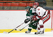 Sasha Nanji (Dartmouth - 24), Kalley Armstrong (Harvard - 13) - The visiting Dartmouth College Big Green defeated the Harvard University Crimson 3-2 on Wednesday, November 23, 2011, at Bright Hockey Center in Cambridge, Massachusetts.