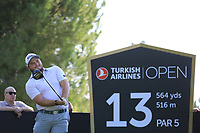 Zander Lombard (RSA) during the second round of the Turkish Airlines Open, Montgomerie Maxx Royal Golf Club, Belek, Turkey. 08/11/2019<br /> Picture: Golffile | Phil INGLIS<br /> <br /> <br /> All photo usage must carry mandatory copyright credit (© Golffile | Phil INGLIS)