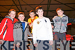 Wrestling Warriows On Tour: Attending the Wrestling Warriors On Tour event at the Listowel Community & Sports Centre on Saturday night last were Emmett  McAuliffe, Thomas Gould, David Lucey, Jack Murphy who was celebrating his 10th birthday & Donnacha Nolan all from Listowel.