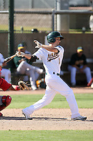 Connor Crumbliss - Oakland Athletics - 2010 Instructional League.Photo by:  Bill Mitchell/Four Seam Images..