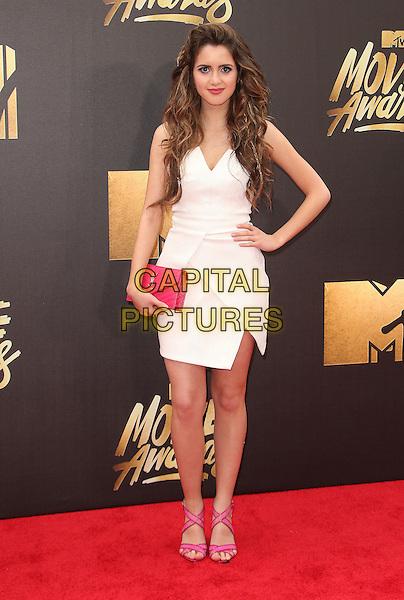 09 April 2016 - Burbank, California - Laura Marano. 2016 MTV Movie Awards held at Warner Bros. Studios. <br /> CAP/ADM/SAM<br /> &copy;SAM/ADM/Capital Pictures