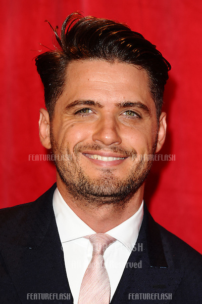 Fabrizio Santino arriving for the 2014 British Soap Awards, at the Hackney Empire, London. 24/05/2014 Picture by: Steve Vas / Featureflash