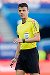 Referee Jesus Gil Manzano in action during their La Liga match between Atletico de Madrid and Sevilla FC at the Estadio Vicente Calderon on 19 March 2017 in Madrid, Spain. Photo by Diego Gonzalez Souto / Power Sport Images