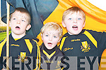 Dr Crokes next generation celebrate their victory over Ballinacourty during their Munster Championship quarter final clash in Dungarvan on Sunday front row l-r: TJ O'Sullivan, Noah Sexton, Conor O'Shea