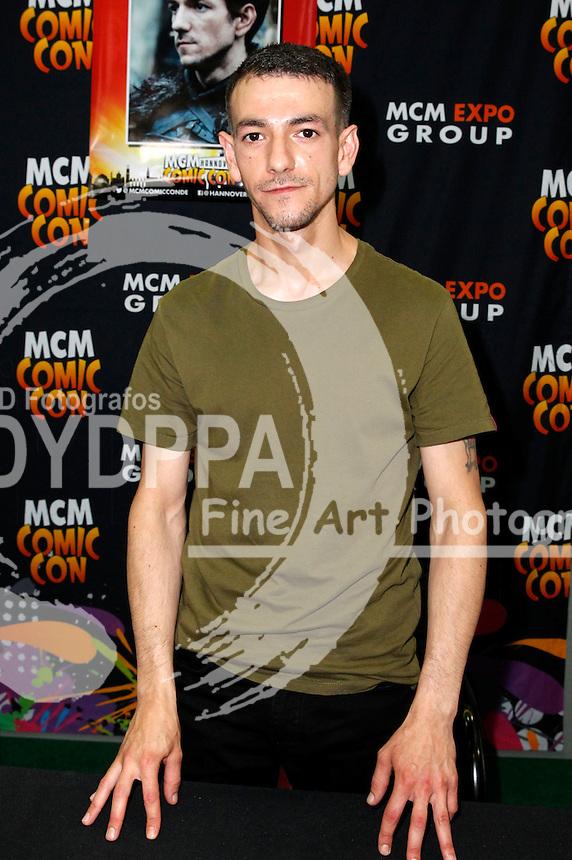 Josef Altin auf der MCM Hannover Comic Con in der Messehalle 2. Hannover, 04.06.2016