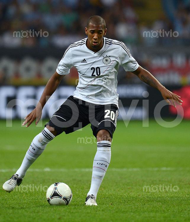 FUSSBALL Nationalmannschaft Freundschaftsspiel:  Deutschland - Argentinien             15.08.2012 Jerome Boateng (Deutschland)