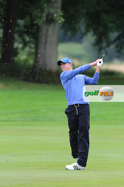 Steven Jeppesen (SWE) during r1 of the Tayto NI Open, Galgorm Castle, Ballymena, Northern Ireland. <br /> Picture Jenny Matthews / Golffile.ie<br /> <br /> All photo usage must carry mandatory copyright credit (&copy; Golffile | Jenny Matthews)