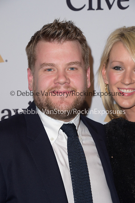 James Corden, Julia Carey attends the 2015 Pre-GRAMMY Gala & GRAMMY Salute to Industry Icons with Clive Davis at the Beverly Hilton  in Beverly Hills, California on February 07,2015                                                                               © 2015 Hollywood Press Agency